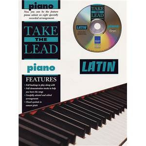 COMPILATION - TAKE THE LEAD LATIN PIANO + CD