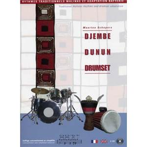 SCHEPERS M - DJEMBE DUNUN DRUMSET VOL.2 + CD