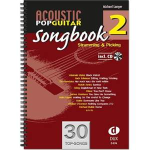 COMPILATION - 30 ACOUSTIC POP GUITAR SONGBOOK 2 + CD