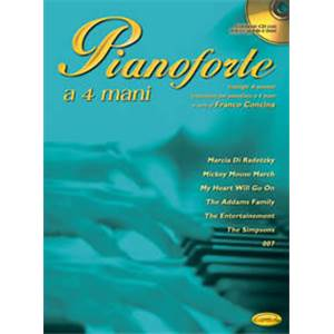 CONCINA FRANCO - PIANOFORTE ANTOLOGIA 4 MAINS VOL.1+ CD