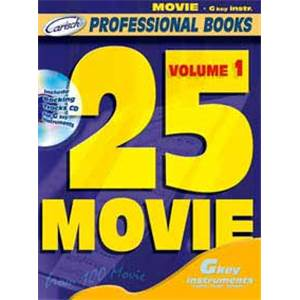 COMPILATION - 25 MOVIE FOR C INSTRUMENTS VOL.1 + CD