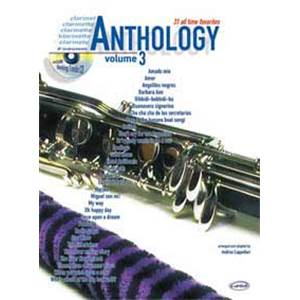 COMPILATION - ANTHOLOGY CLARINET AND ALL BB INSTRUMENTS VOL.3 + CD