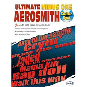 AEROSMITH - ULTIMATE MINUS ONE GUITAR TRAX + CD