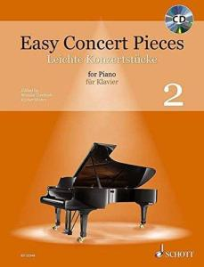 EASY CONCERT PIECES VOL.2 +CD - PIANO