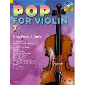 COMPILATION - POP FOR VIOLIN VOL.7 + CD (ROLLING IN THE DEEP) VIOLONS (1 OU 2)
