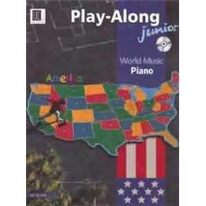 COMPILATION - WORLD MUSIC AMERICA JUNIOR (AMERIQUE) PIANO + CD