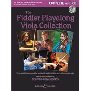 HUWS JONES EDWARD - FIDDLER PLAYALONG VIOLA COLLECTION + CD - ALTO (1 OU 2) ET PIANO/GUITARE AD LIB.
