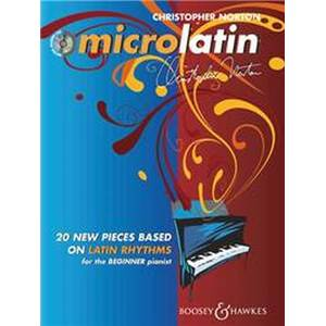 NORTON CHRISTOPHER - MICROLATIN + CD PIANO