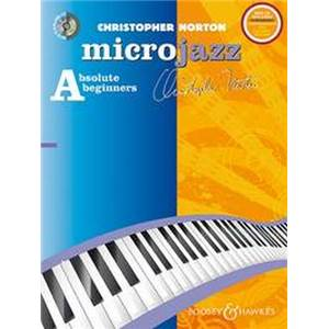 NORTON CHRISTOPHER - MICROJAZZ ABSOLUTE BEGINNERS LEVEL 1 PIANO + CD