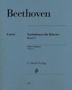 BEETHOVEN LUDWIG VAN - VARIATIONS VOLUME 1 NOUVELLE EDITION - PIANO