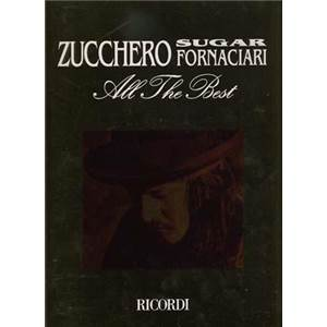 ZUCCHERO - SUGAR FORNACIARI ALL THE BEST CHANT/GUITAR