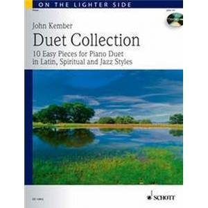 KEMBER JOHN - DUET COLLECTION (LATIN SPIRITUALS JAZZ)+ CD PIANO 4 MAINS