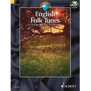 COMPILATION - ENGLISH FOLK TUNES (88 TRADITIONNELS ANGLAIS) + CD ACCORDEON