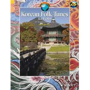 KOREAN FOLK TUNES + CD (20 TRADITIONNELS COREENS) - VIOLON