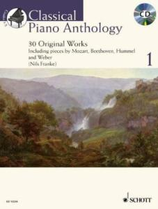 CLASSICAL PIANO ANTHOLOGY VOL.1 +CD - PIANO