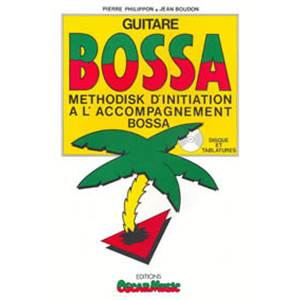 PHILIPPON PIERRE - METHODISK DE BOSSA NOVA + CD