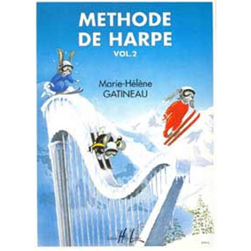 Gatineau mh methode de harpe vol 2 harpe for Papeterie gatineau
