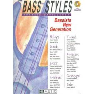DARIZCUREN FRANCIS - BASSISTS NEW GENERATION ETUDES POUR BASSISTES + CD