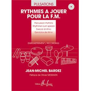 BARDEZ JEAN-MICHEL - PULSATIONS + 2CD - PERCUSSION