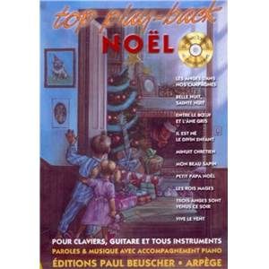 COMPILATION - TOP PLAY BACK NOEL 10 TITRES + CD