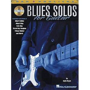WYATT KEITH - BLUES SOLOS GUITAR TAB. + CD