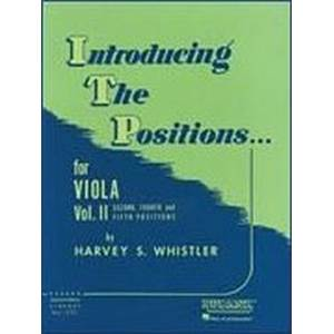 WHISTLER S HARVEY - INTRODUCING THE POSITIONS FOR VIOLA VOL.2