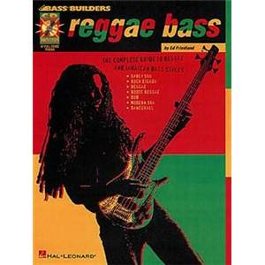 FRIEDLAND ED - BASS BUILDERS REGGAE BASS + CD