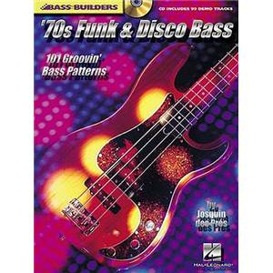 DES PRES JOSQUIN - 70' S FUNK DISCO 101 GROOVIN' PATTERNS FOR BASS TAB. + CD