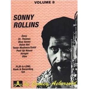 ROLLINS SONNY - AEBERSOLD 008 + CD
