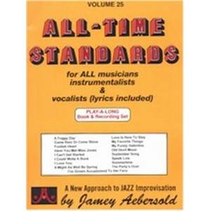 COMPILATION - AEBERSOLD 025 ALL TIME STANDARDS + 2CD