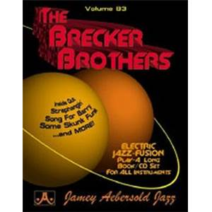 BRECKER BROTHERS - AEBERSOLD 083 + CD