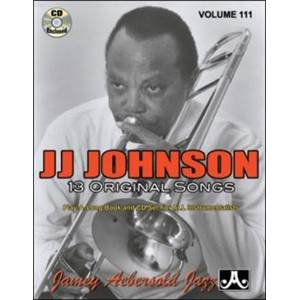 JOHNSON J.J. - AEBERSOLD 111 ORIGINAL SONGS + CD