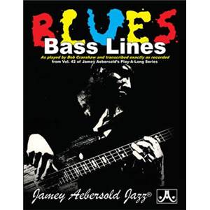 COMPILATION - BLUES BASS LINES AEBERSOLD 42 BY CRANSHAW BOB + CD