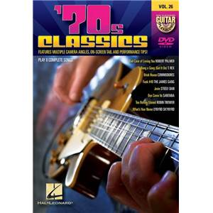 COMPILATION - GUITAR PLAY ALONG DVD VOL.26 70S CLASSICS