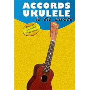 PAIGE JIM - A LA CARTE ACCORDS UKULELE TAB