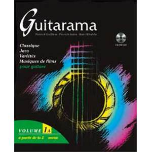 GUILLEM M/KHALIFA/JANIA - GUITARAMA VOL.1A + CD