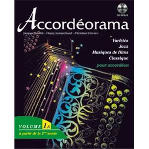 CRAVERO C./FERCHIT J./LEMARCHAND H. - ACCORDEORAMA VOL.2A + CD