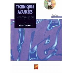 SIGWALT M. - TECHNIQUES AVANCEES METHODE GUITARE + CD