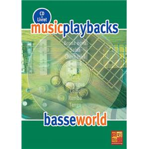 FDBAND - MUSIC PLAYBACKS BASSE WORLD + CD