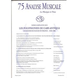 ANALYSE MUSICALE 75 THEME AGREGATION 2015