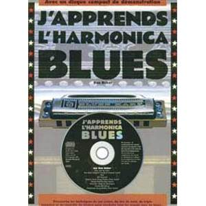 BAKER DAVID - METHODE D'HARMONICA BLUES + CD