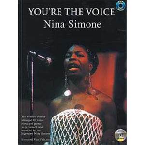SIMONE NINA - YOU'RE THE VOICE + CD