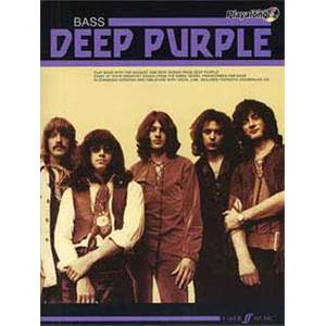DEEP PURPLE - AUTHENTIC PLAY ALONG BASS + CD