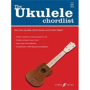 COMPILATION - UKULELE CHORDLIST DICTIONNAIRE D'ACCORDS