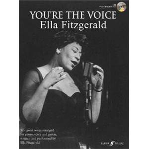 FITZGERALD ELLA - YOU'RE THE VOICE + CD