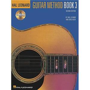 SCHMID / KOCH - HAL LEONARD GUITAR METHOD VOL.3 + CD