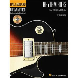 HAL LEONARD - GUITAR METHOD RHYTHM RIFFS + CD