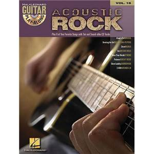 COMPILATION - GUITAR PLAY ALONG VOL.018 ACOUSTIC ROCK + CD
