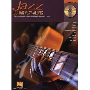 COMPILATION - GUITAR PLAY ALONG VOL.016 JAZZ TAB. + CD