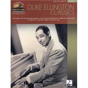 ELLINGTON DUKE - PIANO PLAY ALONG VOL.039 + CD